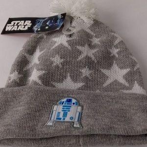 5ddefce0bc5 Star Wars Accessories - Disney Star Wars Girls Beanie Hat W  R2-D2